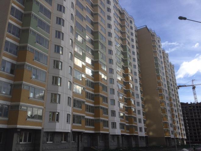 Три новых корпуса построили в микрорайоне Центр-2 Балашихи